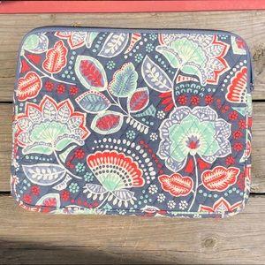 Vera Bradley Nomadic Floral Laptop Holder